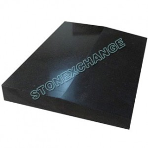 Absolute Black Granite Thresholds- Single Hollywood Bevel