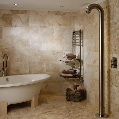 Ideas for Using Marble Bathroom Tile Design