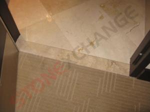 marble floor threshold