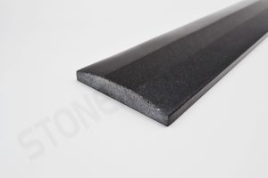 Absolute Black Granite Thresholds- Double Hollywood Bevel