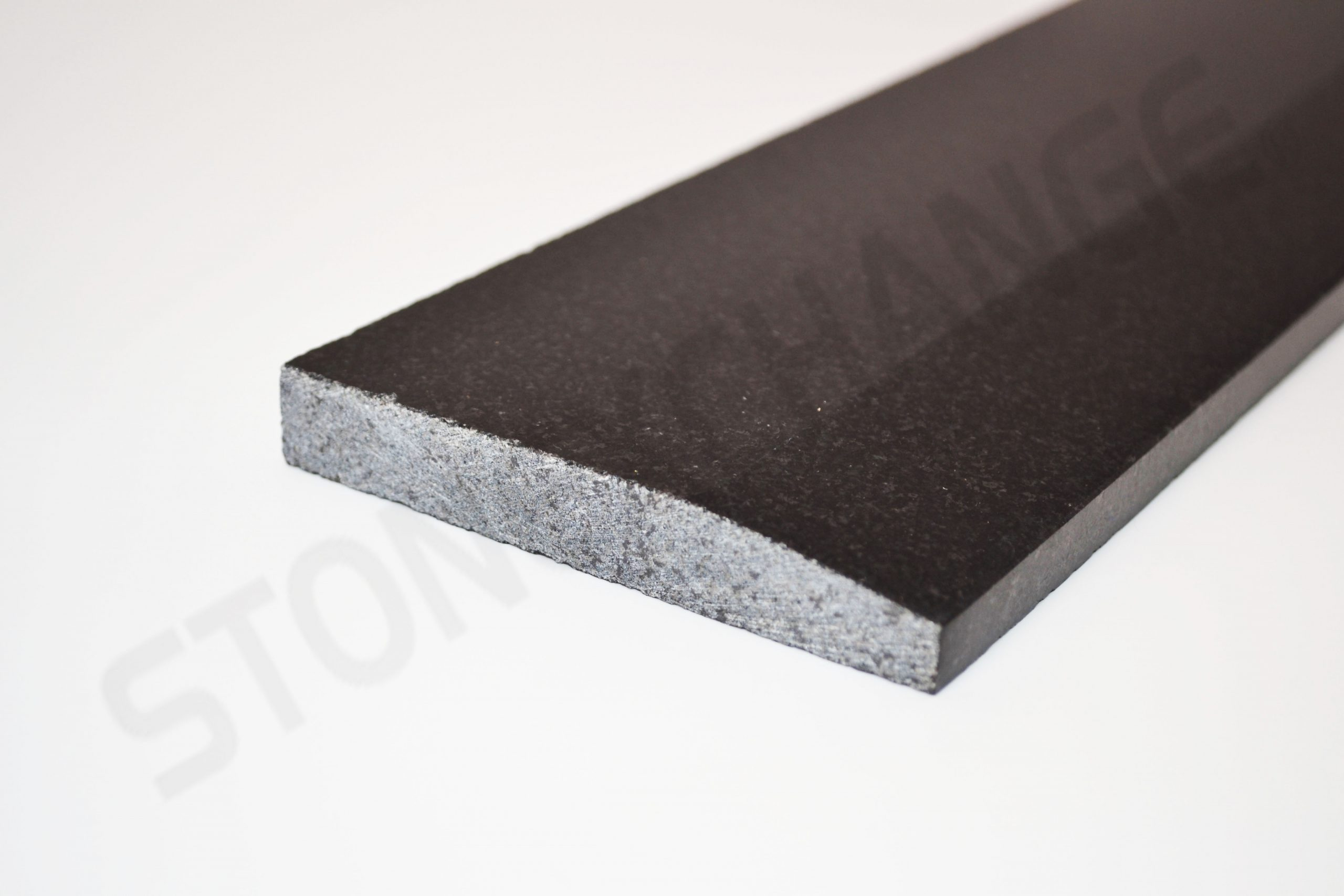 Absolute Black Granite Single Hollywood Threshold 4x36