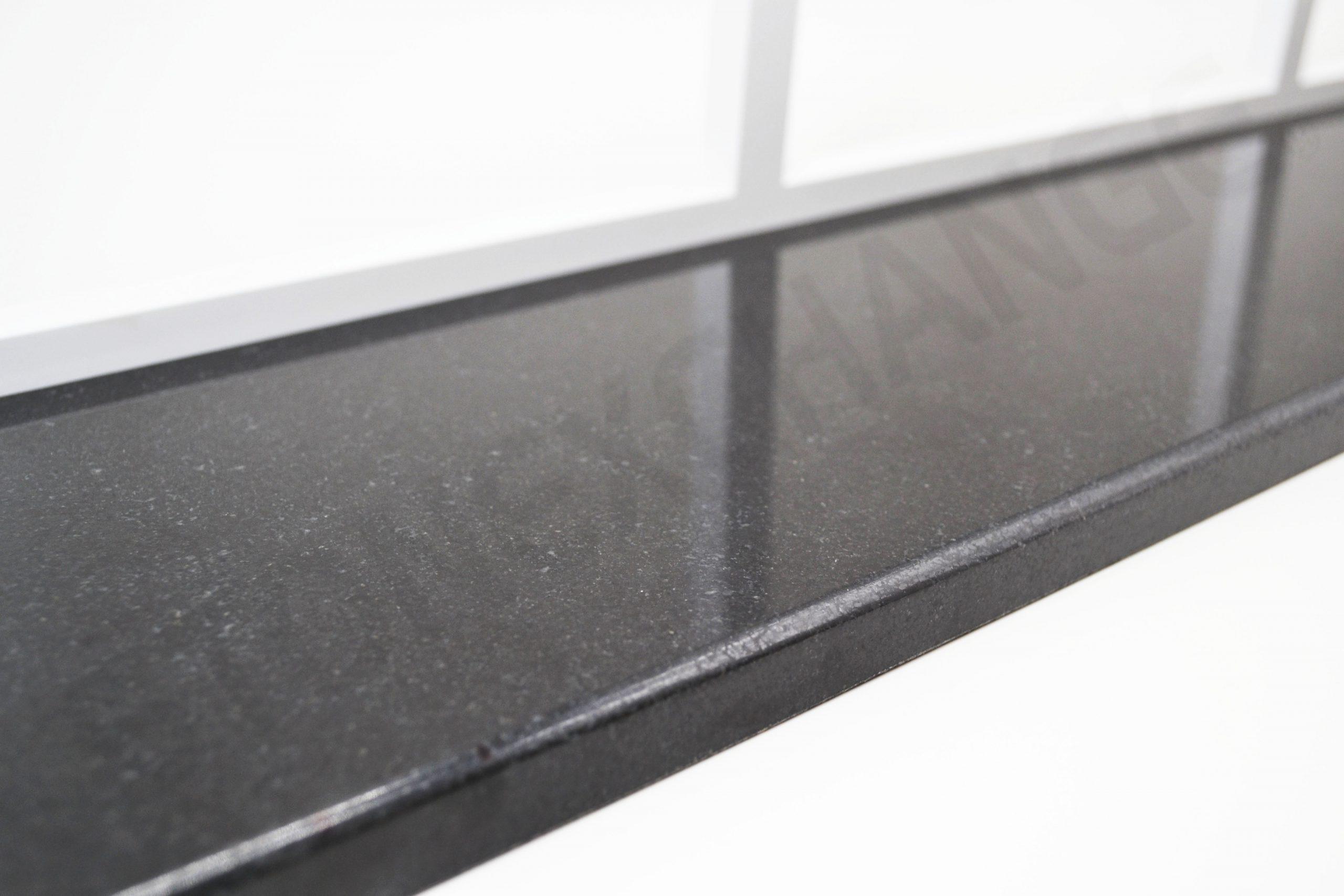 Absolute Black Granite Window Sill