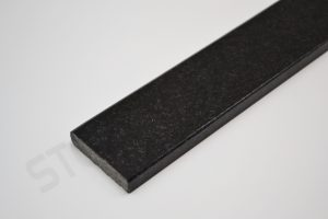 Absolute Black Granite Thresholds Standard Double Bevel
