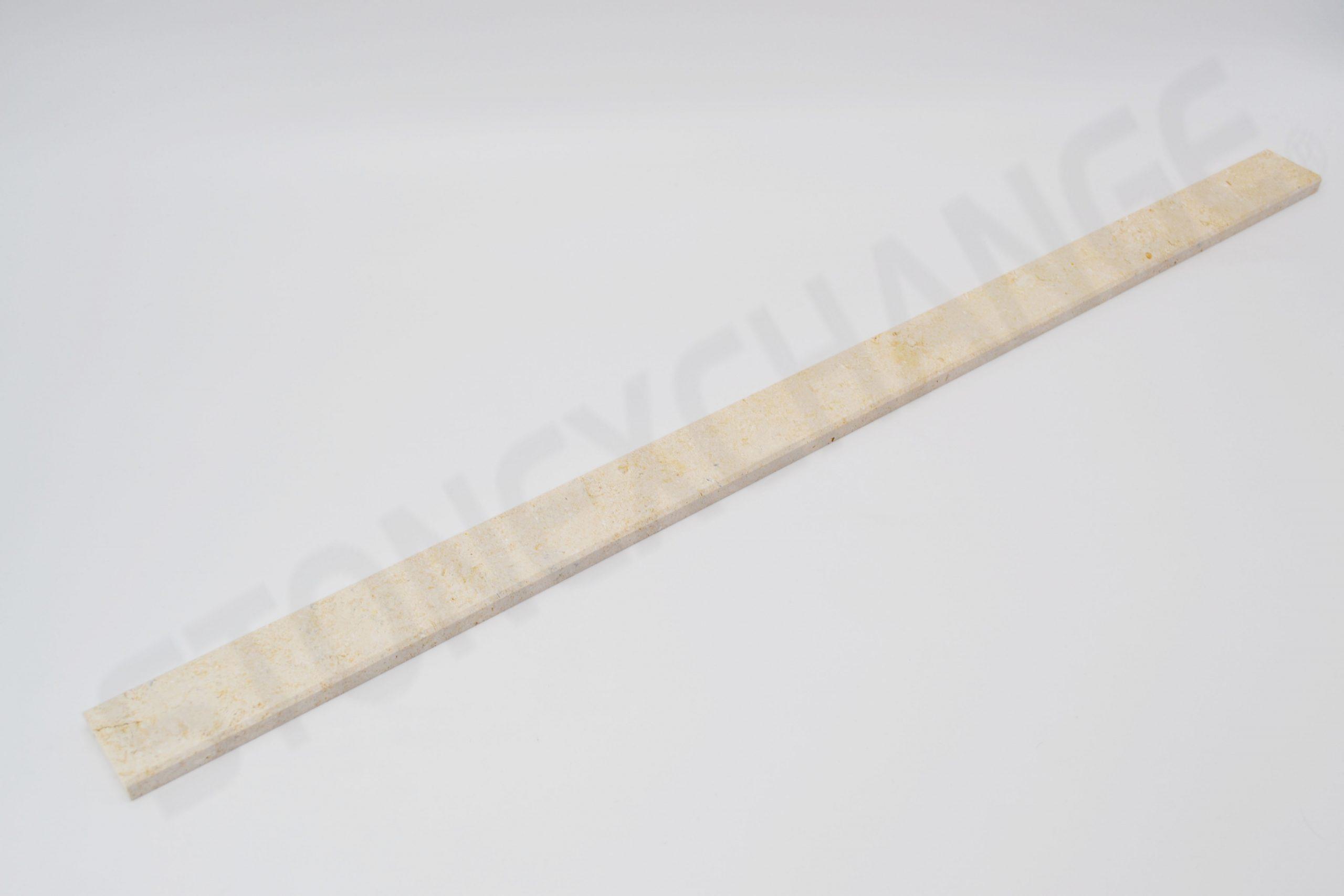Crema Marfil Threshold Double Standard Bevel 4x36