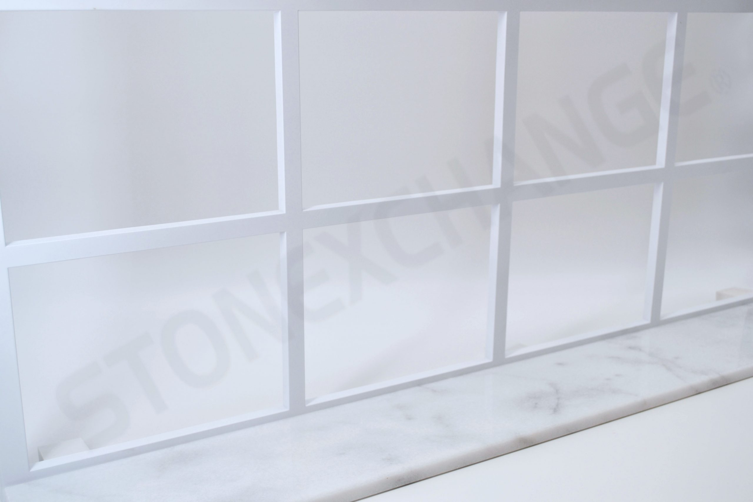 White Carrara Window Sill